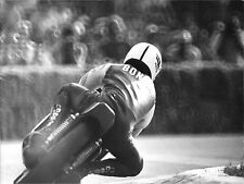 GIANFRANCO BONERA MV AGUSTA 500CC  IMOLA GRAND PRIX NATIONS 1974 PHOTOGRAPH DPPI
