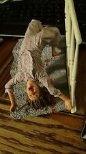 Cult Classics Series 7 The Exorcist REGAN Spider-Walk Bloody Variant Figure NECA