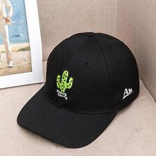 Men Women Peaked Hat HipHop Curved Strapback Snapback Baseball Cap adjustable
