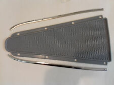 VESPA SPRINT RALLY SUPER GREY CENTER MAT AND STAINLESS STEEL TRIMS