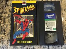 SPIDER-MAN THE HOBGOBLIN OOP VHS! 1997 FOX KIDS ANIMATED CARTOON SUPER HERO!