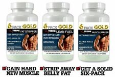 Strong Lean Muscle Pills X Growth Builder Abs Fat Loss Workout Aid Energy Boost
