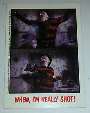 TOPPS 75TH ANNIVERSARY BUYBACK CARD NIGHTMARE ON ELM STREET 3/ FREDDY CRUGER