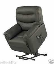 Grand Riser Recliner -Lift Chair- Electric Rise Recliner Chair - Black - Quality