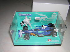 BRAND NEW MINICHAMPS 1/43 VILLENEUVE 2005 SAUBER C24 MICHELIN EDITION LIMTED 384