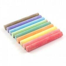 12 COLOUR Chalk Sticks Blackboard Quality Tool Pieces Chalkboard Education Pens