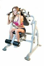 Leikefitness Abdominal Trainer Height Adjustable LCD Monitor Green AB9300 New