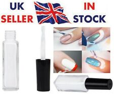 Nail Art Peel Off Liquid Tape Base Cream Polish Palisade White Latex 10ml