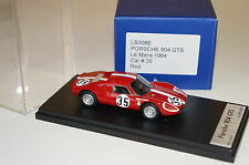 LOOKSMART PORSCHE 904 GTS #35 LE MANS 1964 RED 1/43