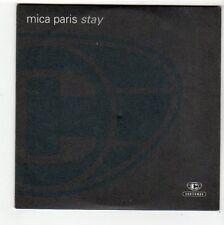 (FC509) Mica Paris, Stay - DJ CD