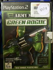 Army Men: Green Rogue PS2 Playstation 2 , Book Included #337
