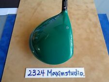 "CUSTOM Taylormade R9 Supertri driver ""GREEN"" 8.5 degree S flex"
