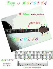 Guitar Book cd . Learn with easy color coded lessons in Guitar Tab ..100+ Pages
