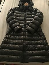 Moncler Moka Quilted Mid Length Down Coat Jacket Puffer $1195 size 5