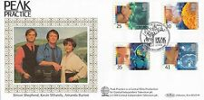 (85563) GB Benham FDC Medical Discoveries Peak Practice Wirksworth 27 Sept 1994