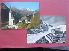 2 Alte Ansichtspostkarten Grossglockner / Heiligenblut