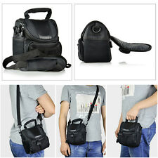 Small Nylon Shoulder Bag Case Handbag For Samsung Sony Nikon Canon DSLR Camera