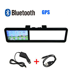 "4.3"" LCD 128MB Car AV-IN Bluetooth GPS Navigator Navigation View Monitor 3D Map"