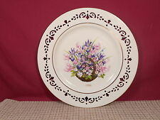 Lenox China Colonial Bouquet Massachusetts Plate 10 5/8""