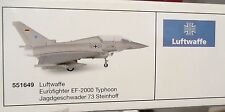 Herpa 1:200  -  Luftwaffe  Eurofighter EF-2000 Typhoon Steinhoff  -     551649