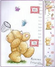 Anchor Forever Friends Cross Stitch Kit Play Days Height Chart