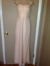 JILL STUART BUTTER CREAM COLOR LADIES LONG DRESS NORDSTROM SIZE 8 NEW WITH TAG.