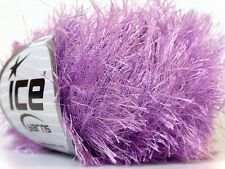 Lilac Eyelash Yarn Ice Fun Fur 22774 50 gram