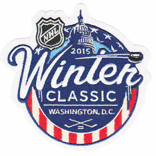 2015 NHL WINTER CLASSIC GAME LOGO JERSEY PATCH (WASHINGTON VS.CHICAGO)