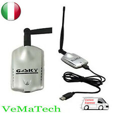 VMS ANTENNA WI FI AMPLIFICATORE SEGNALE WI-FI USB WIRELESS WIFI PC GS-27USB