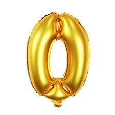 16 Inch Gold Arabic Foil Balloons Wedding Birthday Party Decorations Number 0