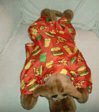 CLOTHES OUTFIT PAJAMAS JUNK FAST FOOD PIZZA CHEESEBURGER FOR SCOOBY DOO PLUSH