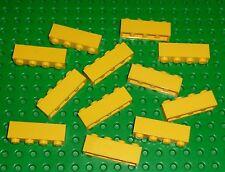 LEGO - YELLOW - Brick, 1 x 4  -  x 12  (3010) YL27