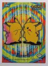 DITTO Pikachu #132 Topps TV Animation Edition Trading Card (No 5 of 10)