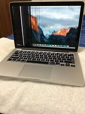 "MacBook Pro 13"" Late 2013 - Retina - Core i 5 - 4 GB - 128 GB SSD - 2.4 GHz -"