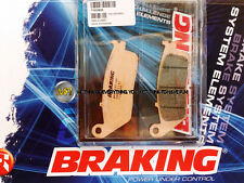 HONDA XL V TRANSALP 600 1996 96 PASTIGLIE ANTERIORE SINTERIZZATE FRENO BRAKING C