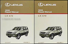 1999 Lexus LX470 Repair Shop Manual Set NEW Condition LX 470 Service Books OEM