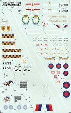 Xtradecal X48012 1/48 Sepecat Jaguar GR.1 Model Decals
