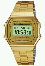 Brand New 100% Original Casio A-168wg-9a.Unisex gold tone watch
