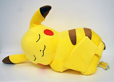 Pokemon Center Plush Doll Cushion Sleeping Pikachu 162171