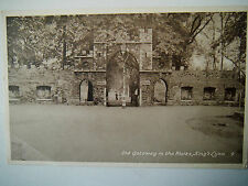 Old Gateway in the Walks Kings Lynn Norfolk 1950s Old Postcard National Series