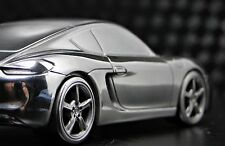 Porsche 911 GT 1 Exotic Sport Race Car Cayman 18 Racing 43 Carousel Silver 12 S