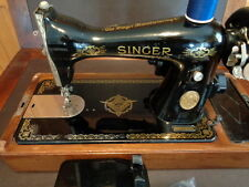 HEAVY DUTY SINGER SEWING MACHINE 15 RAF DECALS HEAVY DUTY NICE XTRAS