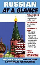 Russian at a Glance: Foreign Language Phrasebook & Dictionary (At a Glance Serie