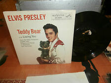 "elvis presley""teddy bear""single7""usa-rca dog on top-47-7000.original 1957."