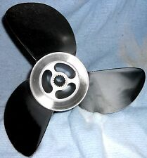 Volvo Penta F6 Duo Prop Stainless Steel Rear Propeller 3851476 For DPS Drive