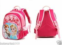 Frozen Elsa & Anna Girls Kids Cute Large Backpack School Bag Rucksack Lunch Bag