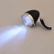 Retro Bicycle Bike 3 LED Front Light Headlight Vintage Flashlight Lamp New IY