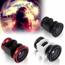3in1 Fish Eye + Wide Angle + Macro Camera Lens Photo Kit Set for iPhone5 Series