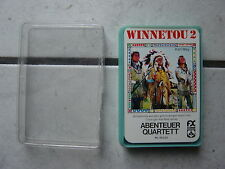 Winnetou  2 - FX Schmid - Quartettspiel (Version  2) -alt -top