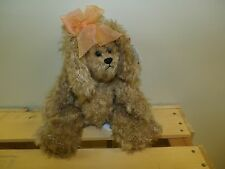 Cassandra - brown dog - Attic Treasures Collection - 2000